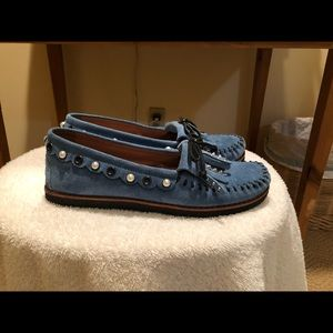 Coach moccasins. Worn once